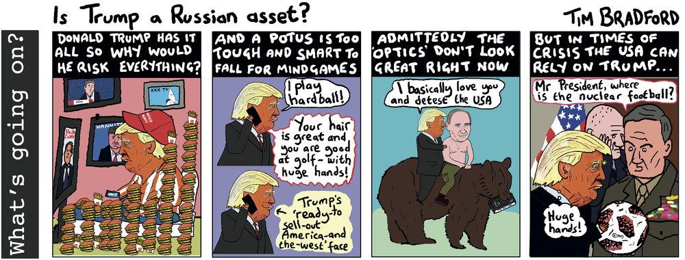 Is Trump a Russian asset? - 17/07/18