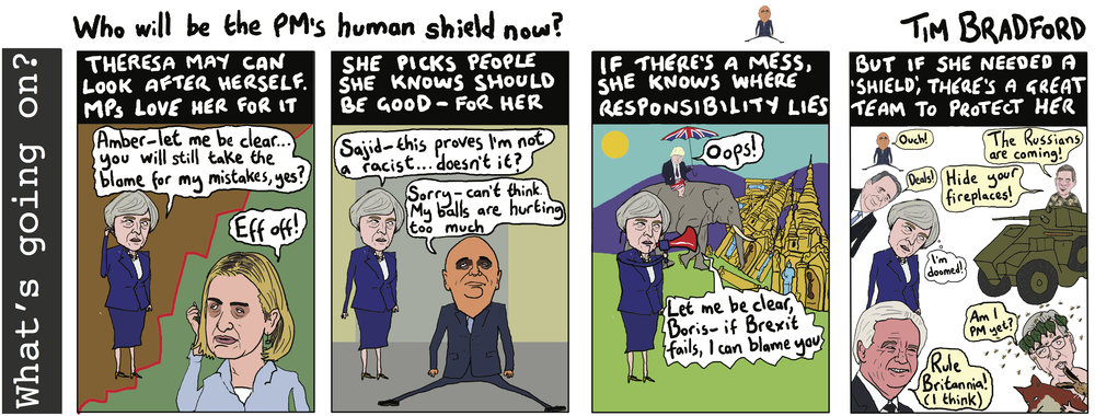 Who will be the PM's human shield now? - 01/05/18