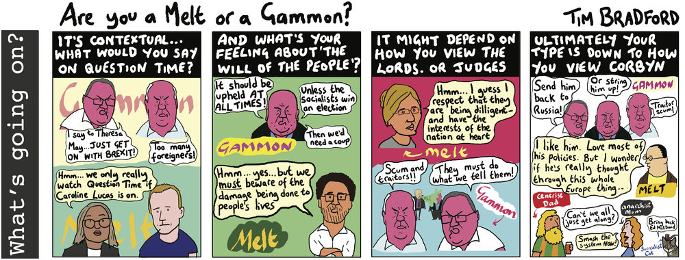 Are you a melt or a gammon? - 15/05/18