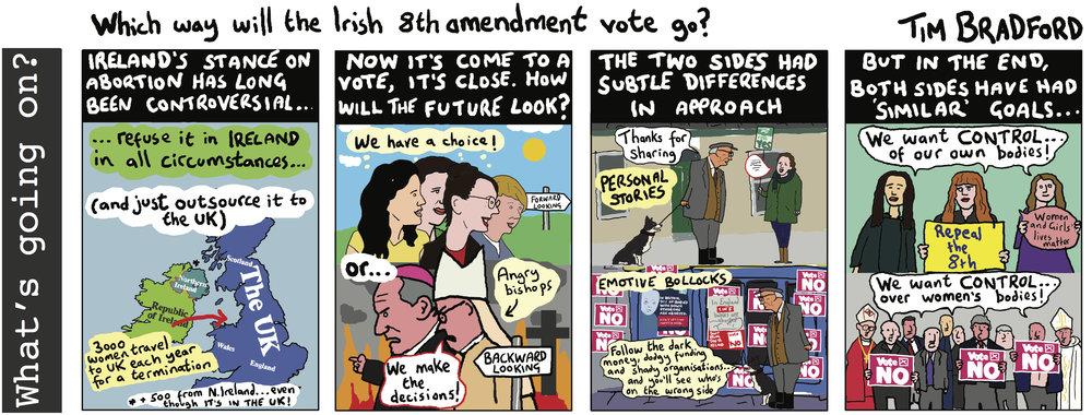 Which way will the Irish 8th amendment vote go? - 22/05/18