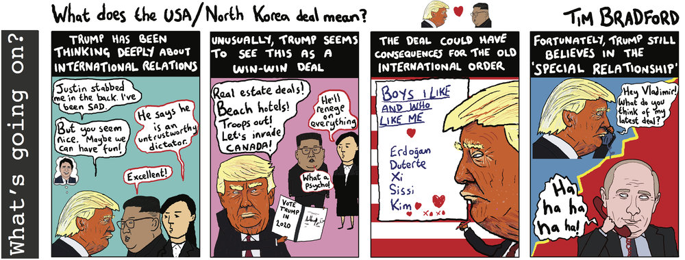 What does the USA/North Korea deal mean? - 13/06/18