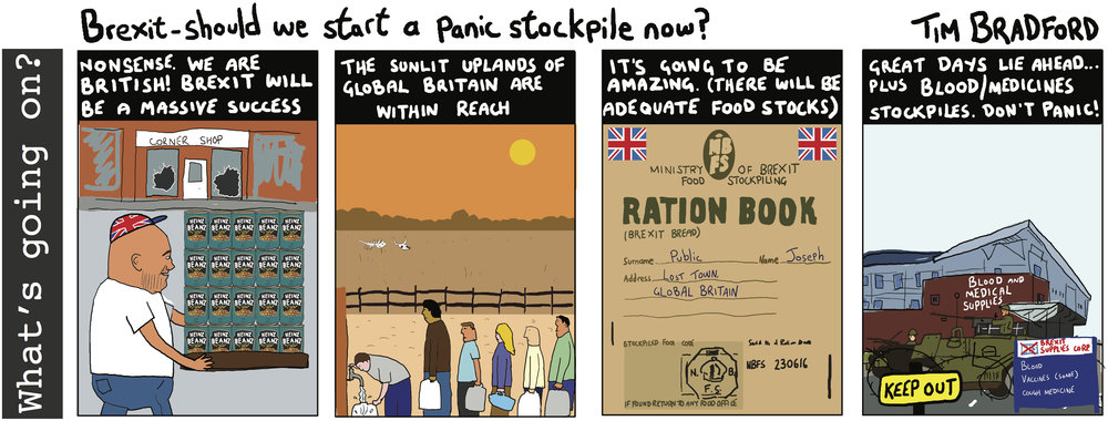 Brexit - should we start a panic stockpile now? - 15/08/18