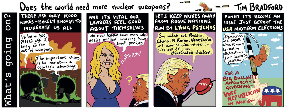Does the world need more nuclear weapons? - 23/10/18