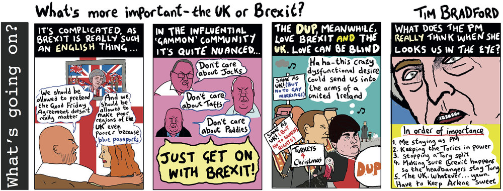 What's more important - the UK or Brexit? - 16/10/18