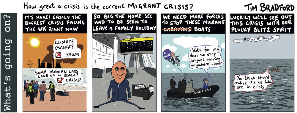 How great a crisis is the current MIGRANT CRISIS? - 31/12/2018