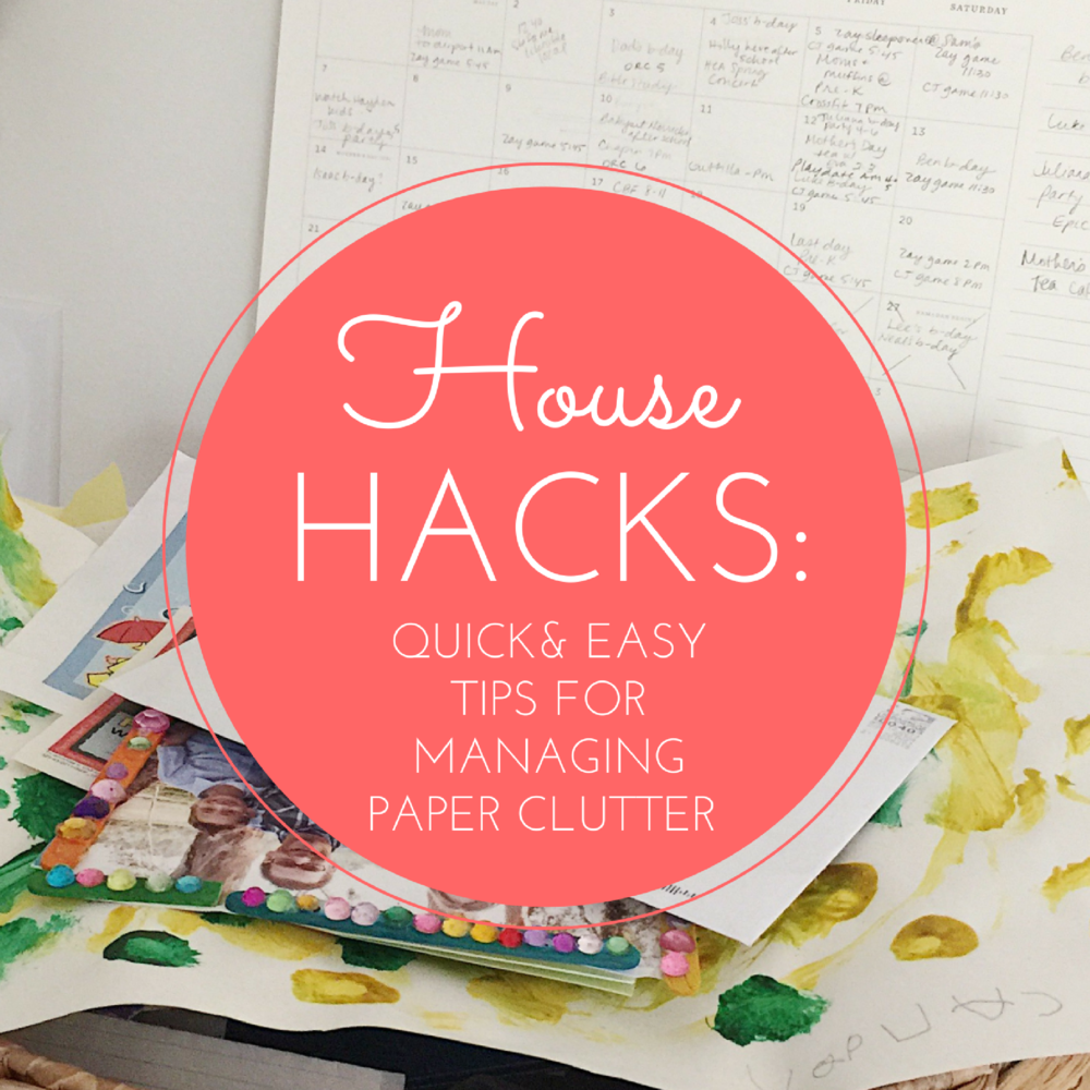 House Hacks: Organizing Paper Clutter by Entrusted Ministries