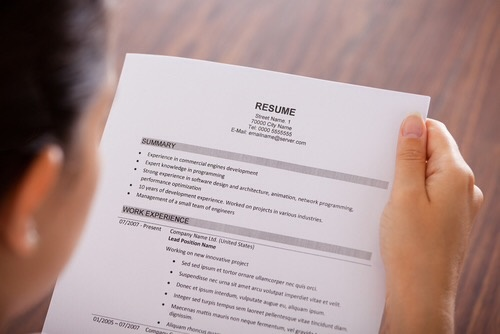 make resume stand out