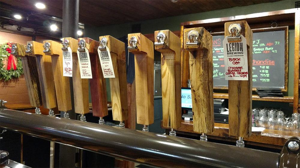 Beers on Tap, Legion!!