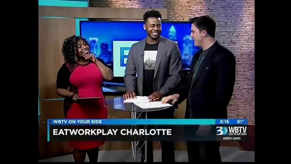 EWP on Live TV a couple weeks ago!