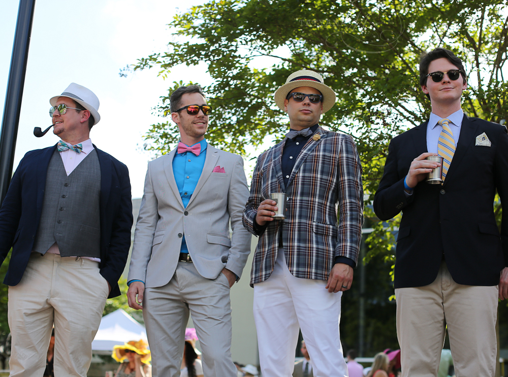 Men's Best Dressed Competition, Derby Days 2015