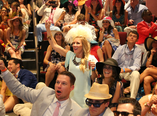 Watching the Horse Race, Derby Days 2015