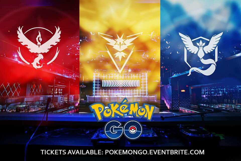 Banner promoting Label's Pokemon Go Party this Saturday via Facebook