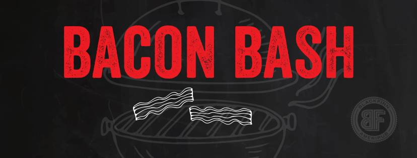 Blackfinn Ameripub is teaming up with Eat Work Play to bring you BACON BASH on Saturday, Ausguts 5th from 2-6pm! Sample unique, savory bacon inspired appetizers, desserts and delicious Patron cocktails along with bacon giveaways, a bumpin DJ and more! Tickets are $15 in advance and $20 at the door, and this is a 21+ event (because of the Bacon Booze)  Click the link below to buy your ticket today!