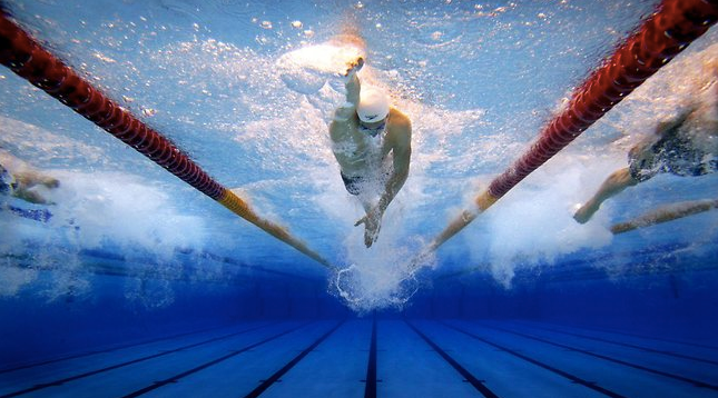 Swimming is a wonderful, no-impact form of excellent aerobic physical activity.
