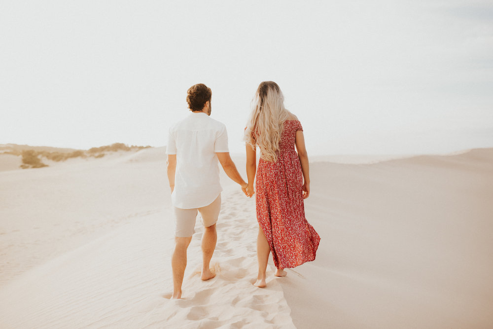 Desert Sunset Adventure // Victoria  engagement Lauren + Chris coming soon