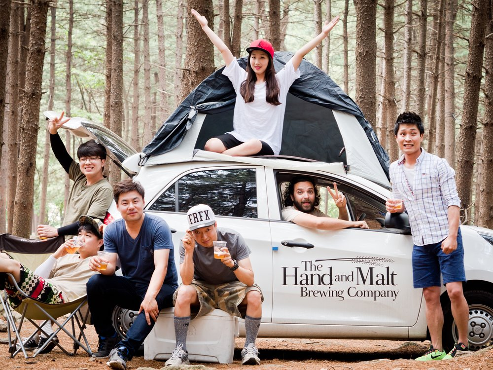 캠핑을 좋아하는 핸몰 멤버들은 우리 끼리도 캠핑을 떠난답니다lol!