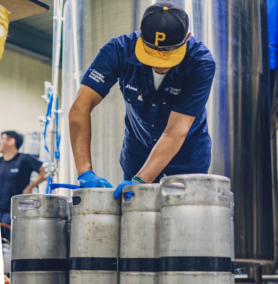 맥주 만드는 천리길도 케그 워시부터!