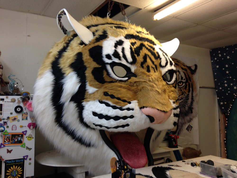 Matthew McAvene creates ears for tiger head.jpg