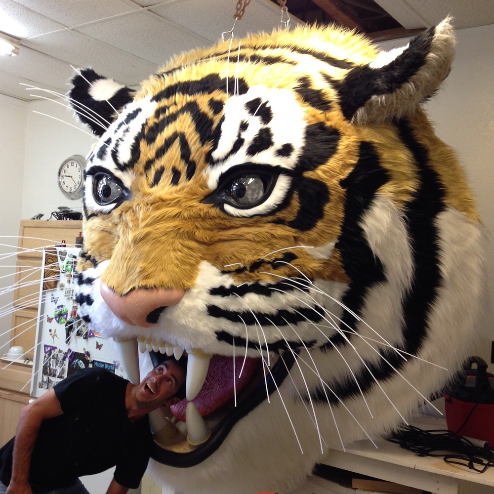 Matthew McAvene building a Tiger Sculpture for Tiger Heroes.jpg