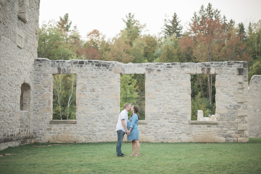 harris mill ruins photo session