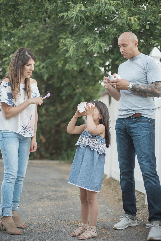 family photos icecream