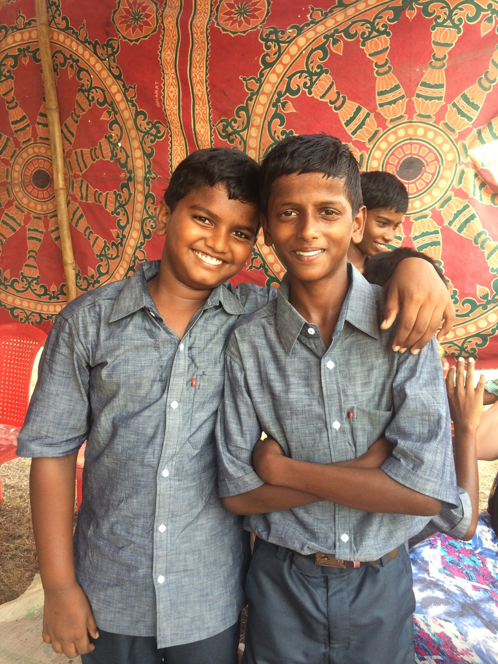 Two best friends at Hanumanthapalem!