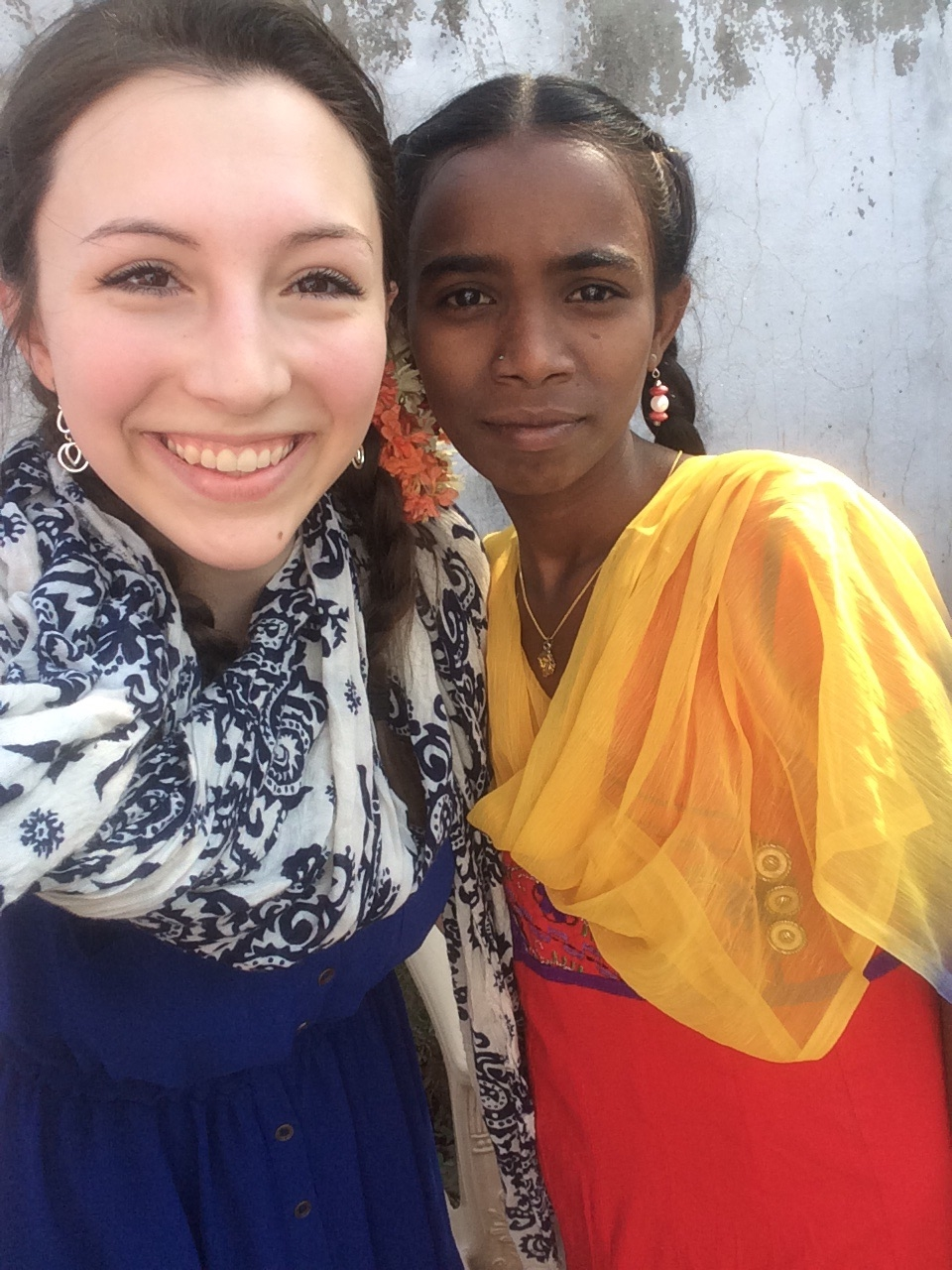 A lovely girl from Veldurthy Orphanage