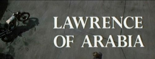 lawrence of arabia title card