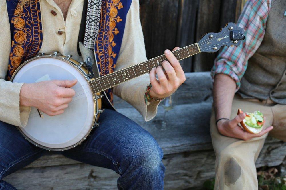Banjo pickin