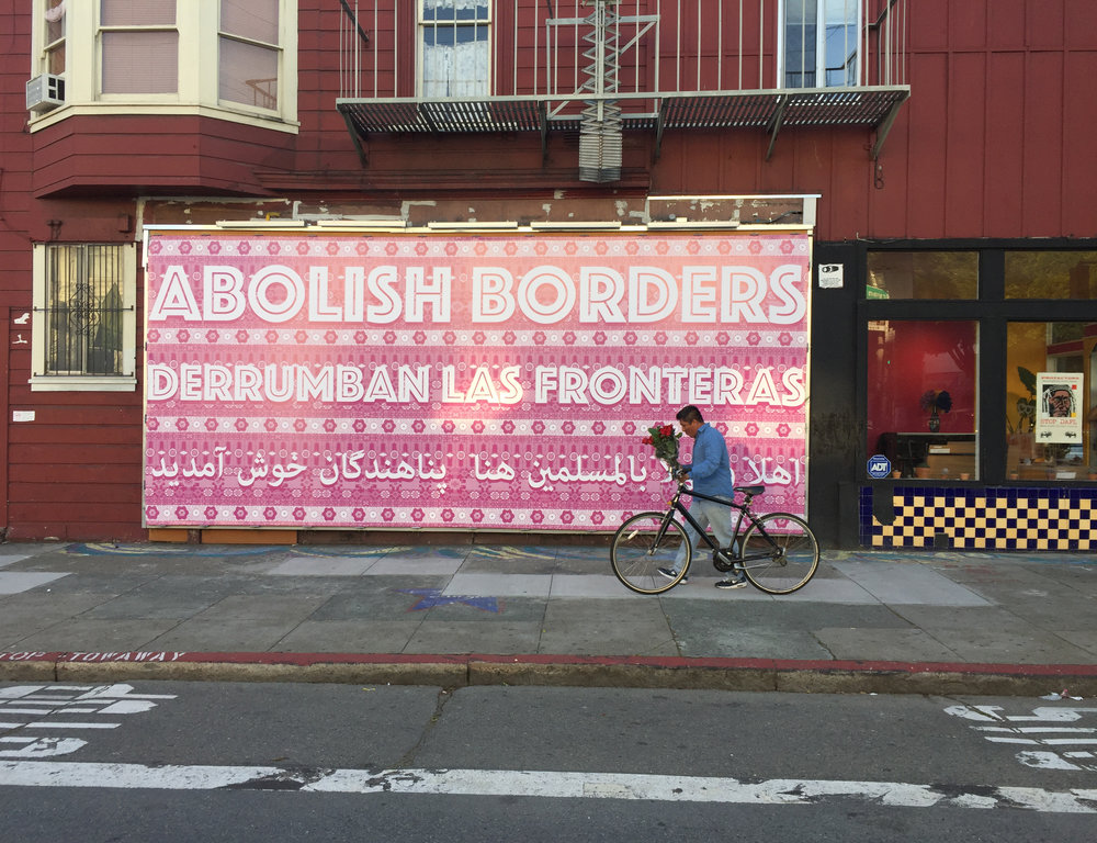8.3 / Art can't do anything if we don't. ABOLISH BORDERS as Revolutionary Futurity By Carlos Jackson