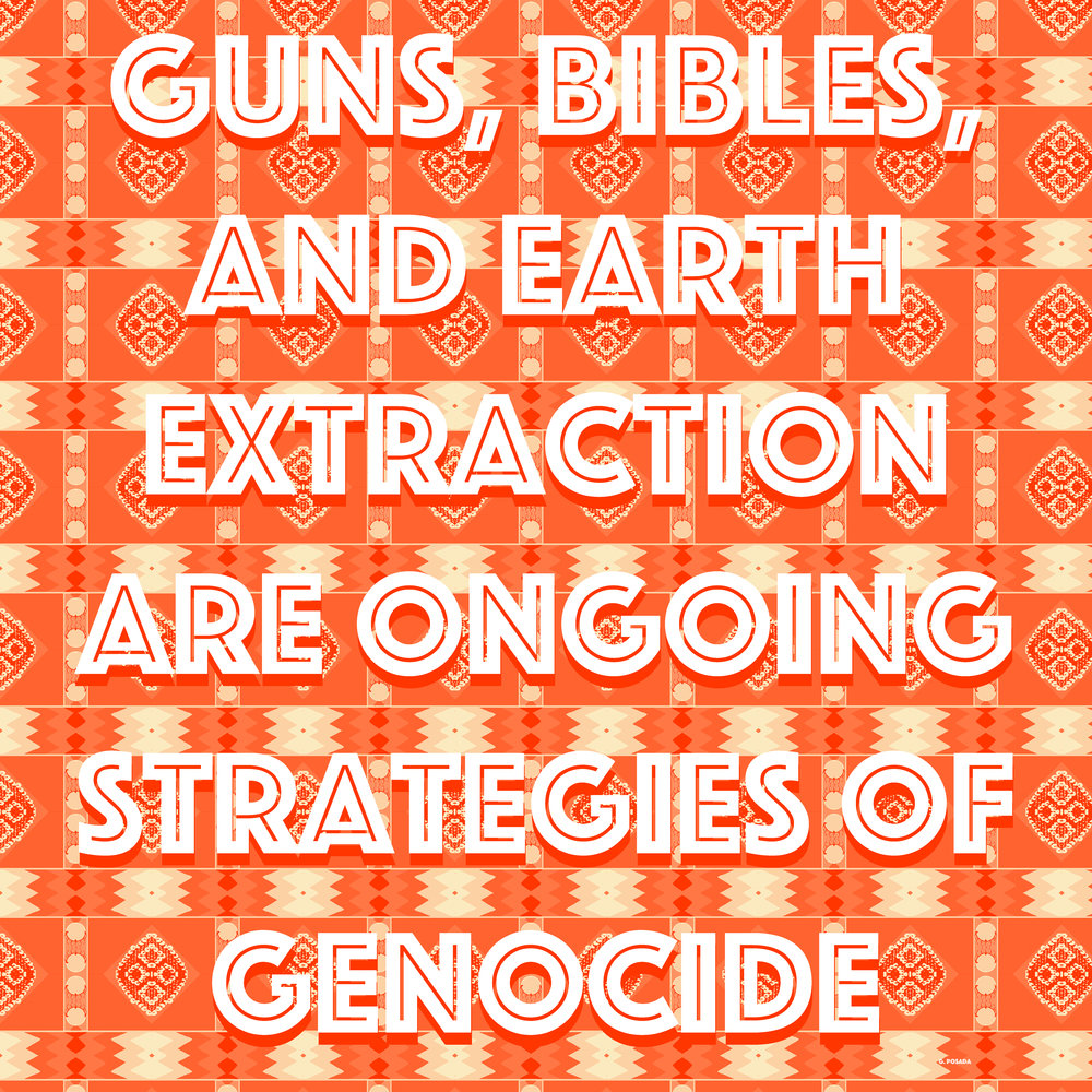 Guns, Bibles, and Earth Extraction, 2017