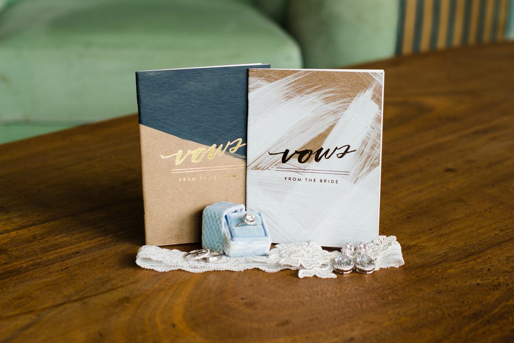 Vow books and accessories