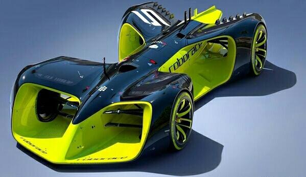 Roborace Car by Daniel Simon