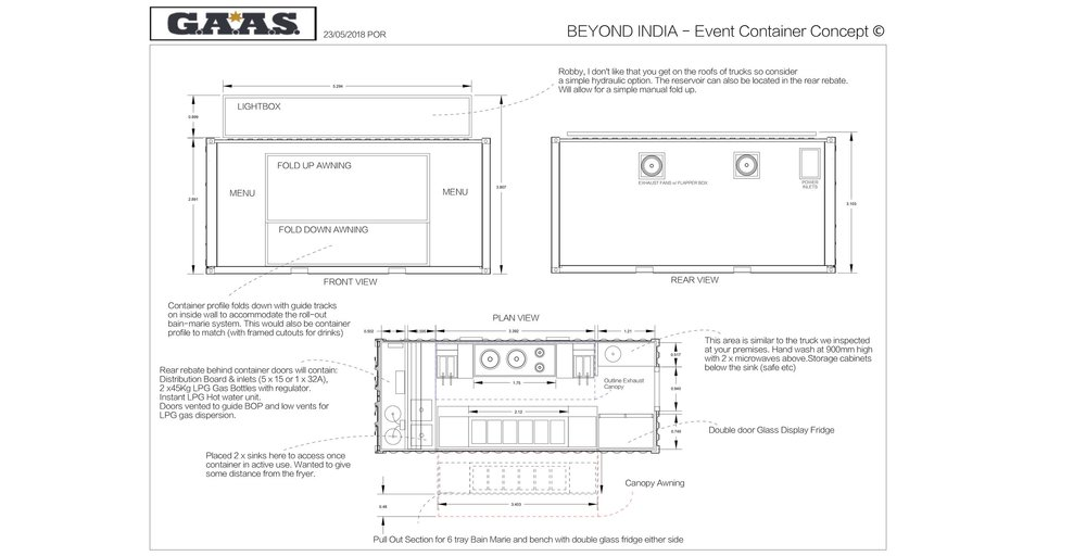 CONTACT US FOR CONTAINER CAMP LAYOUTS -