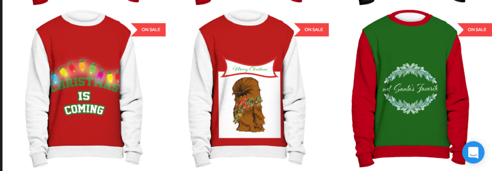 apparel Christmas design print 2017