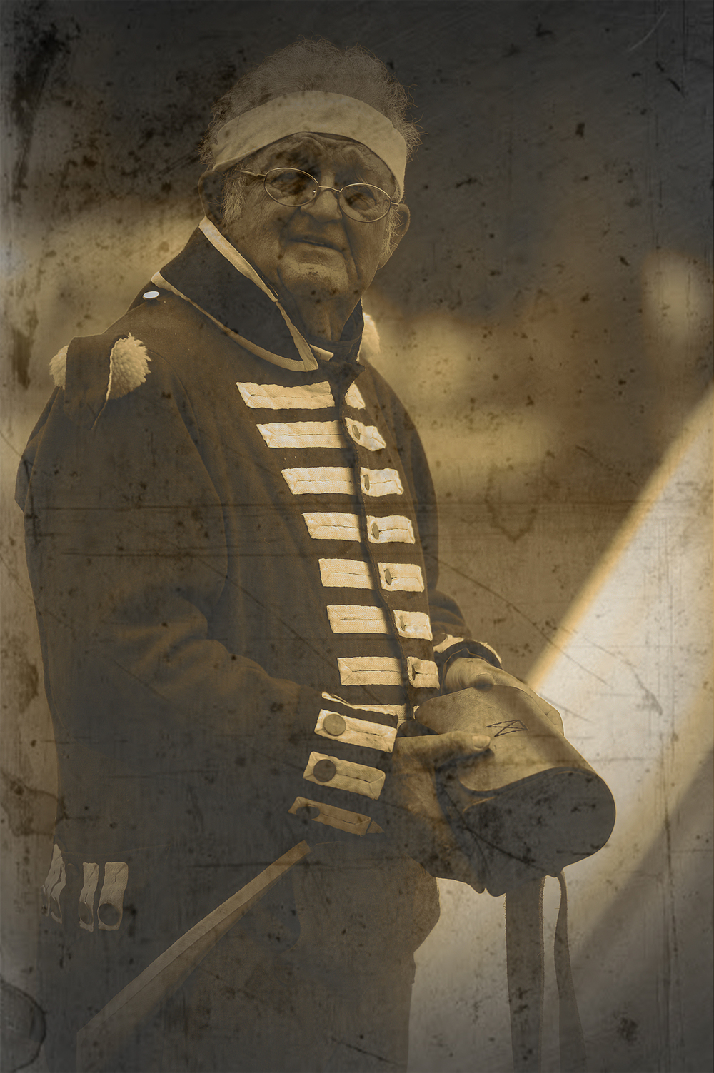Portraits from a reenactment of the War of 1812 in Sackets Harbor, NY.
