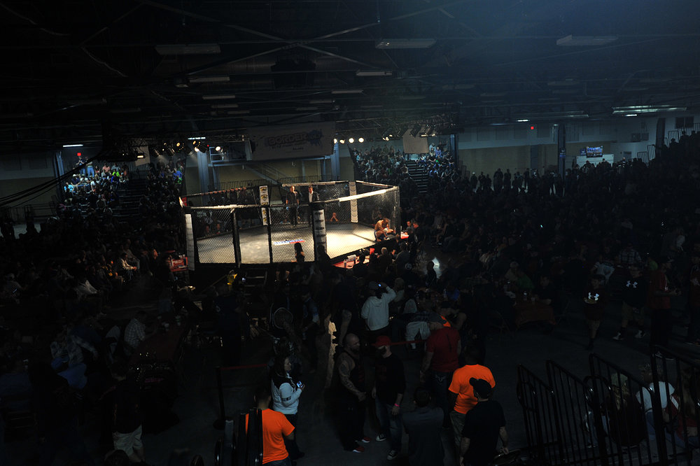 The Watertown arena hosted its first Can-Am tournament after MMA became legal in New York earlier this year.