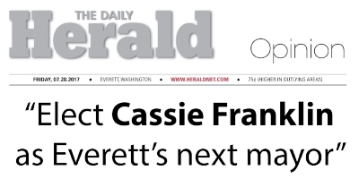 Click to View Cassie's Everett Herald Endorsement