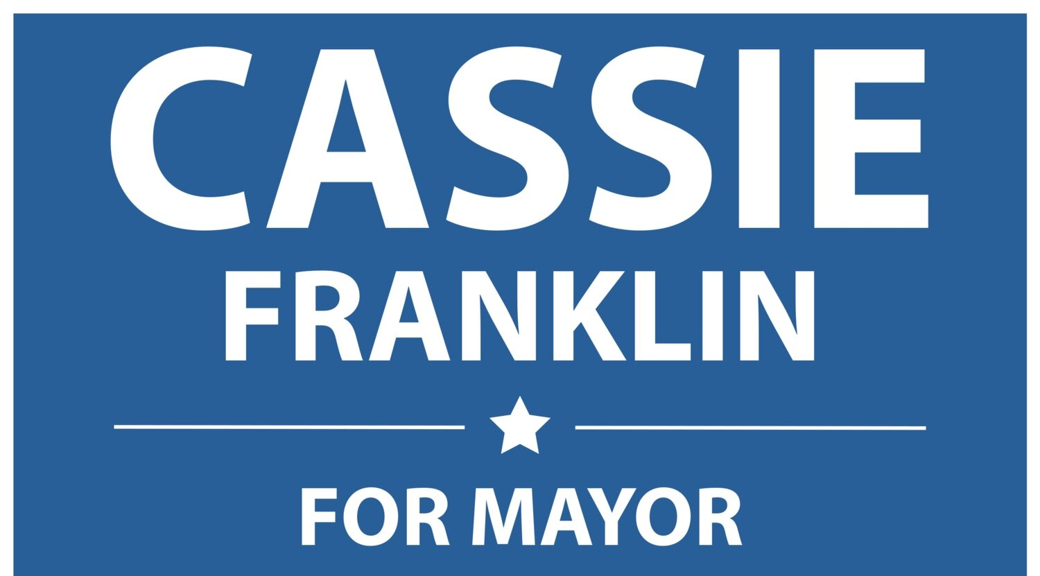 Cassie Franklin for Mayor