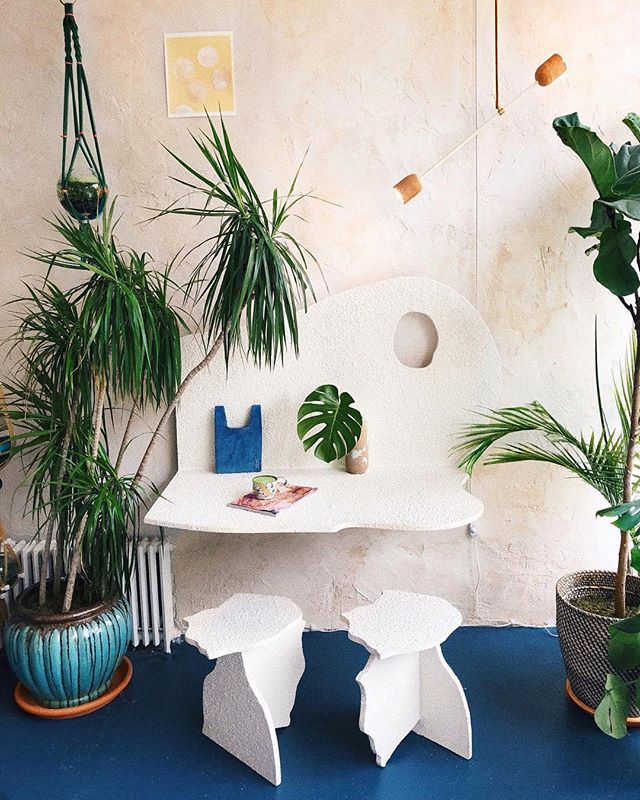 #repost @viktoria.dahlberg ・・・ Monday's in Brooklyn ✨ @_domicile #love #interior #plants #nyc