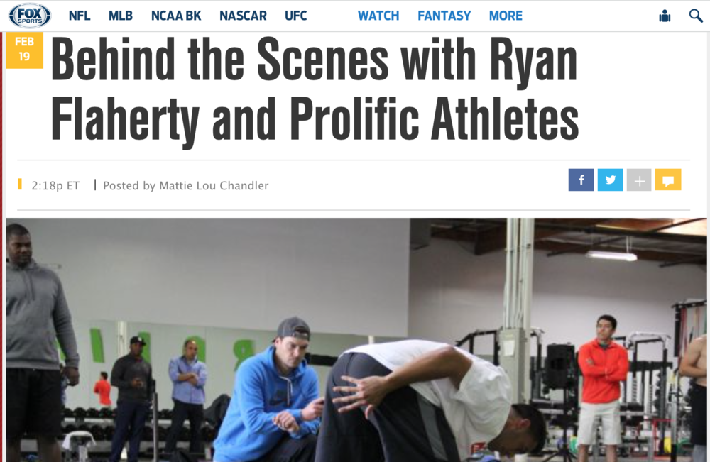 http://www.foxsports.com/college-football/outkick-the-coverage/behind-the-scenes-with-ryan-flaherty-and-prolific-athletes-021915