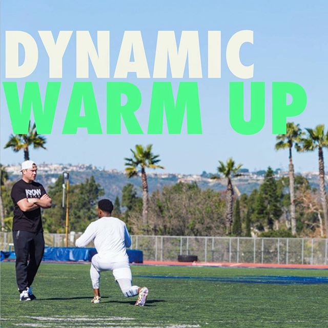 NEW VIDEO IS UP *edit* | We had a lot of requests for a good dynamic warm-up. This is the one that I use with most of my athletes. You can adjust this to fit your own specific needs, as well. (Link in bio)