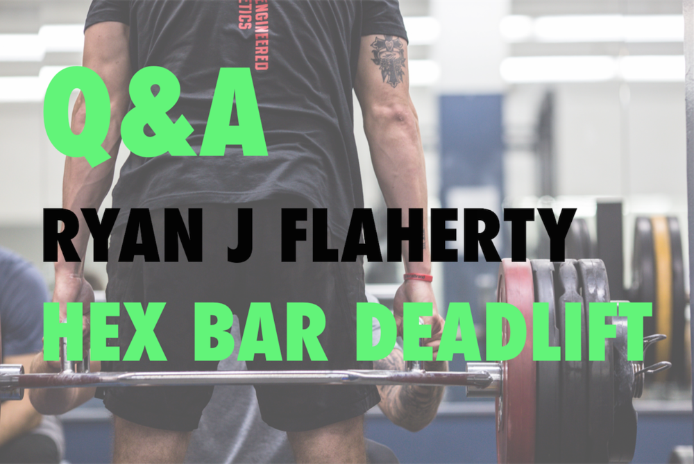 HEX BAR Q&A - with Ryan J. Flaherty