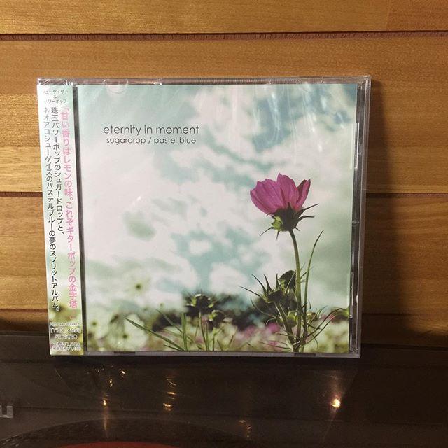 Pastel Blue/Sugardrop「Eternity in Moment」split #shoegaze #powerpop #highfaderrecords #japan