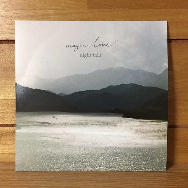 magic love「night falls」EP #japan #japanese #shoegaze #シューゲイザー #cd #newrelease #tokyo