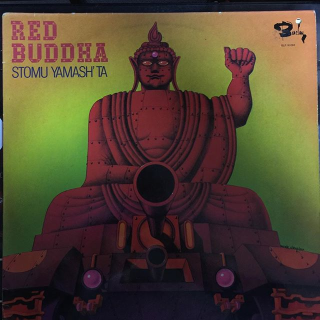 Stomu Yamash'ta「Red Buddha」#japan #experimental #avantgarde #percussion #vinyl