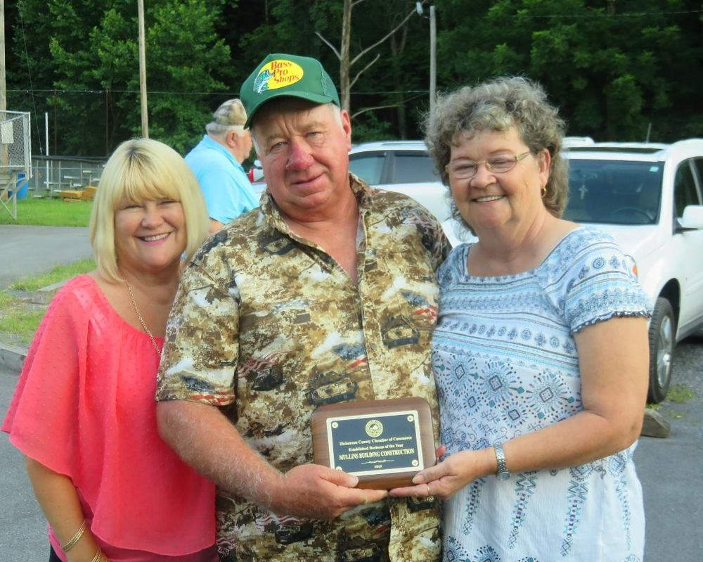 Dickenson County Chamber Established Business of the Year: Mullins Construction Company