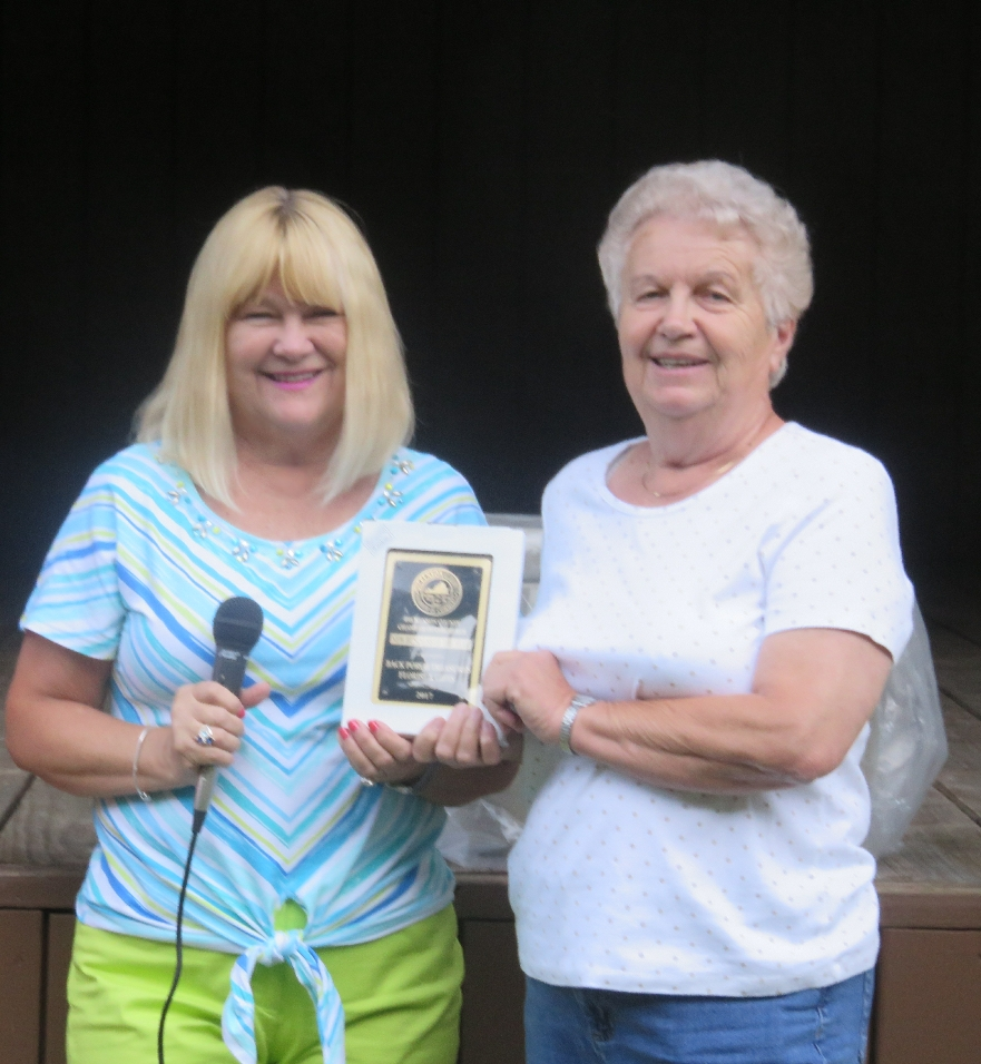 Back Porch Treasures Floral & Gift Shop- Sheila Bailey- 2017 Dickenson County Chamber's New Business of the Year