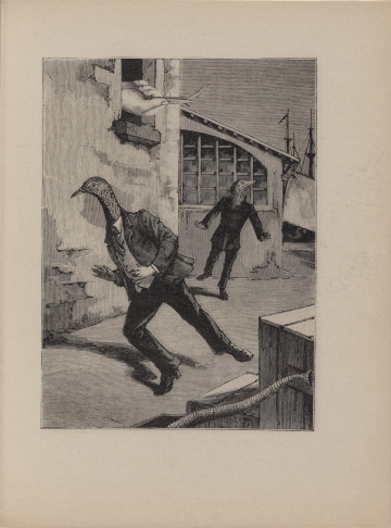 Max Ernst, depicting totally normal, not at all weird stuff.