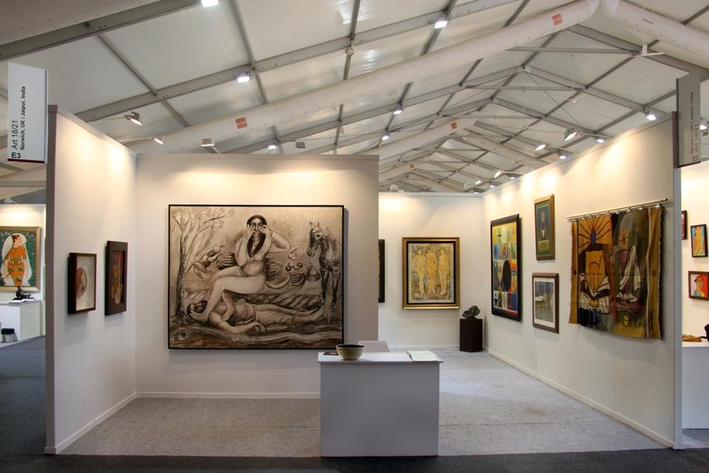 India Art Fair 2015 1.JPG